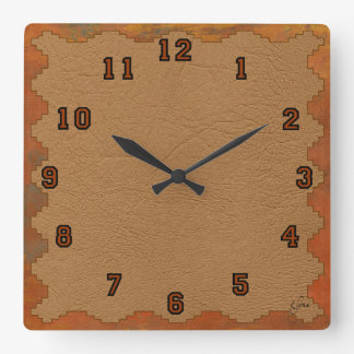 Chaco Square Wall Clock