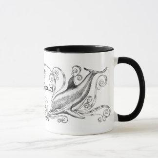 """""""Chacoal Dolphins II"""" Mug"""