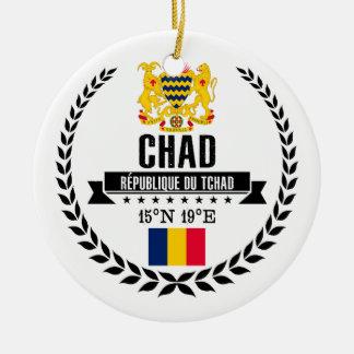 Chad Ceramic Ornament