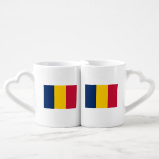 Chad Flag Coffee Mug Set