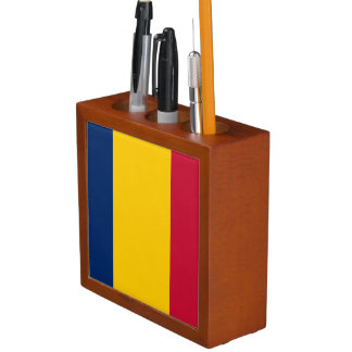 Chad Flag Desk Organizer