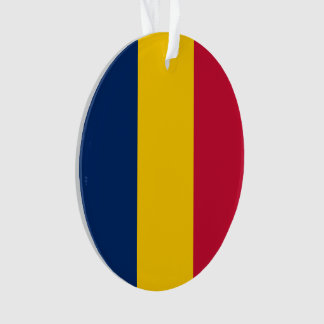 Chad Flag Ornament