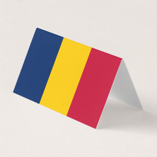 Chad Flag Place Card
