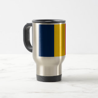 Chad Flag Travel Mug