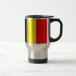 Chad Flag Travel Mug