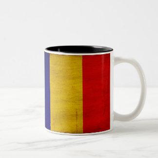 Chad Flag Two-Tone Coffee Mug