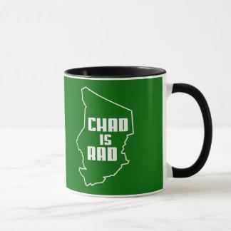 Chad is Rad Outline Mug