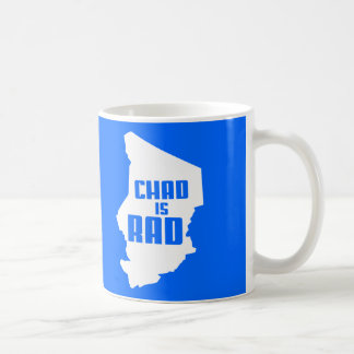 Chad is Rad (solid) Coffee Mug