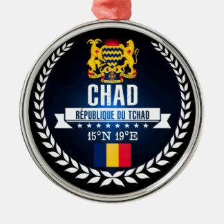 Chad Metal Ornament