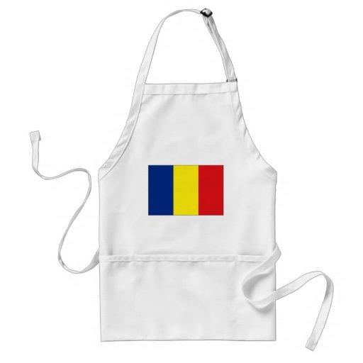 Chad National Flag Aprons