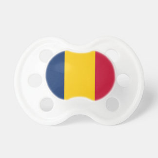 Chad National World Flag Pacifier