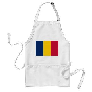 Chad National World Flag Standard Apron