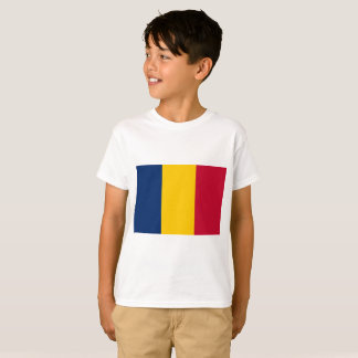 Chad National World Flag T-Shirt