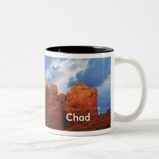 Chad on Coffee Pot Rock Mug