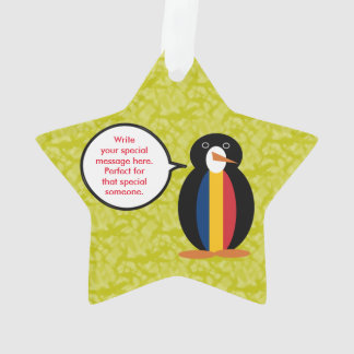 Chadian Holiday Mr. Penguin Ornament