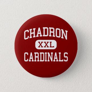 Chadron - Cardinals - Middle - Chadron Nebraska 2 Inch Round Button