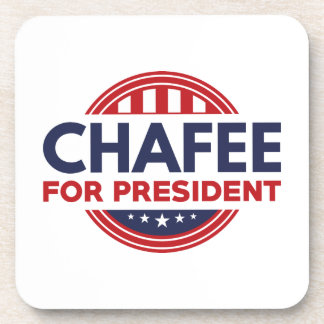 Chafee For President Drink Coasters