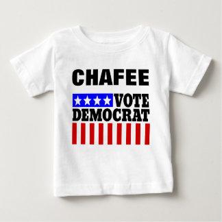 Chafee Vote Democrat  for President Baby T-Shirt