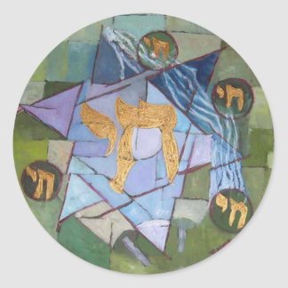 Chai Classic Round Sticker