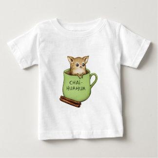 Chai-huahua Chihuahua Chai Tea Design Baby T-Shirt