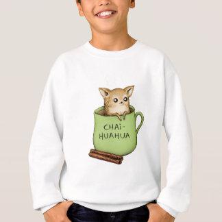 Chai-huahua Chihuahua Chai Tea Design Sweatshirt