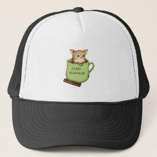 Chai-huahua Chihuahua Chai Tea Design Trucker Hat
