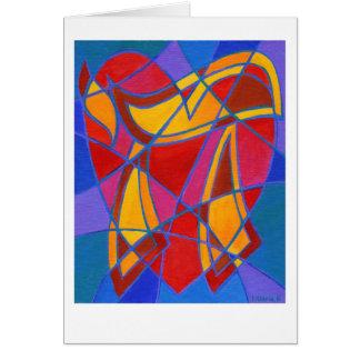 Chai Mosaic IV Card