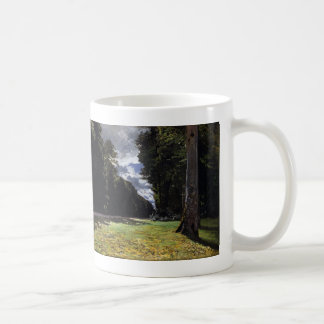 Chailly in the Forest of Fontainebleau (1865) Coffee Mug