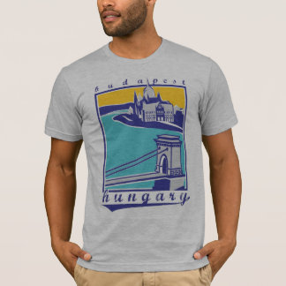 Chain Bridge - Budapest Forever! collection T-Shirt