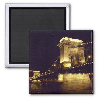 Chain Bridge Budapest Hungary Magnet
