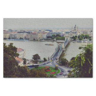 Chain bridge, Budapest Tissue Paper