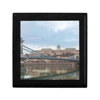 Chain Bridge with Buda Castle Hungary Budapest Gift Box
