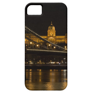 Chain Bridge with Buda Castle Hungary Budapest iPhone 5 Covers