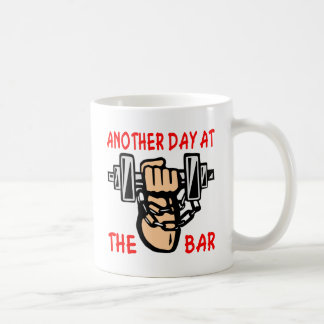 Chain & Dumbbell Another Day At The Bar Coffee Mug