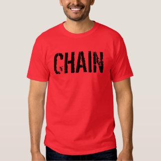 Chain HalfAnArgument T-shirt