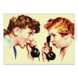 Chain of Gossip Greeting Card