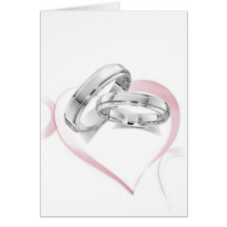 Chain of Hearts Shower Party Card