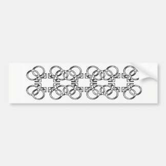 Chain of Love Bumper Sticker