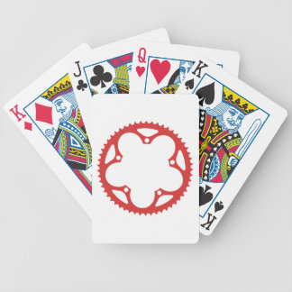 Chain Ring Bicycle Playing Cards