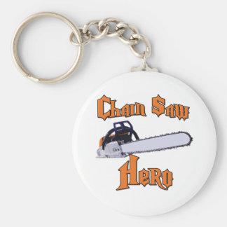 Chain Saw Hero Chainsaw Keychain