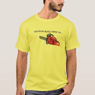 Chain-Saw, HUDSON BOYZ TREE CO. T-Shirt