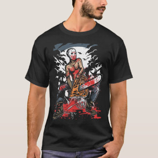 Chain Saw Killer T-Shirt