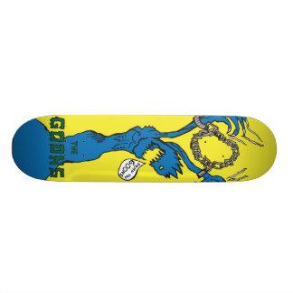 Chained Custom Skate Board