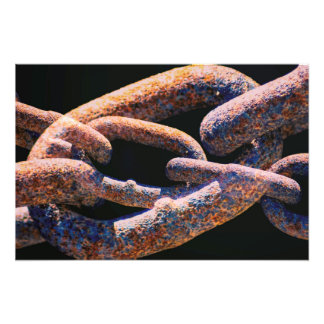 Chained Photo Print