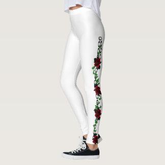 Chained Roses Romantic Goth Leggings
