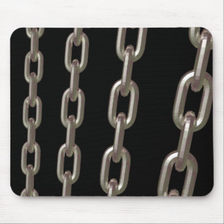 Chains At Night Mouse Pad