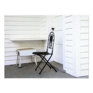 Chair and Bench Photograph