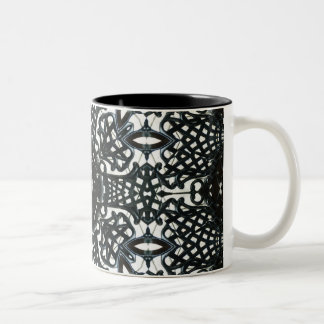 Chair flower Two-Tone coffee mug