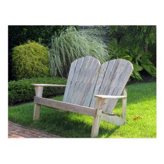 Chair in Ocean Grove NJ / Jersey Shore Postcard