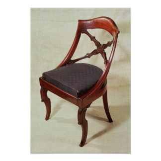 Chair, Louis-Philippe period Poster